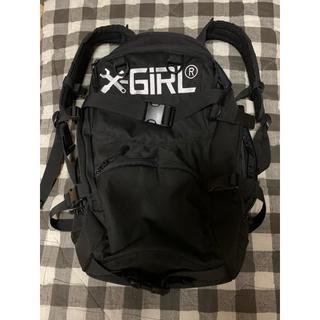 エックスガール(X-girl)のx-girl リュック  黒 7stars コラボ(リュック/バックパック)