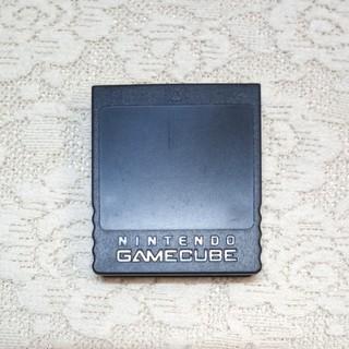 ニンテンドーゲームキューブ(ニンテンドーゲームキューブ)の●任天堂●ゲームキューブ 純正品メモリーカード251ブロック(送料無料)⑥(その他)