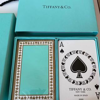 ティファニー(Tiffany & Co.)のTiffany ティファニー トランプ 新品・未使用(トランプ/UNO)