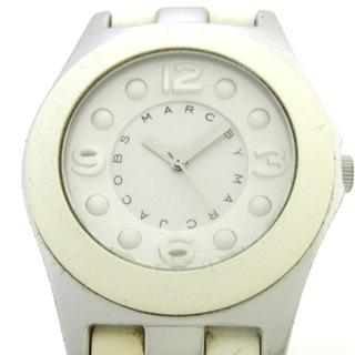 マークバイマークジェイコブス(MARC BY MARC JACOBS)のマークジェイコブス 腕時計 - MBM3500 白(腕時計)