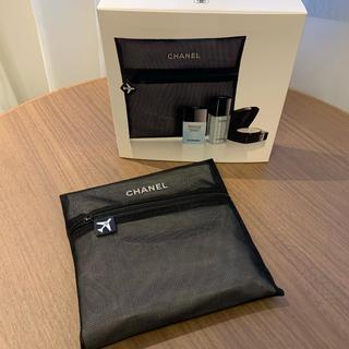 CHANEL - 新品❤︎シャネル ポーチ付き トラベルセット