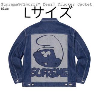 Supreme - Supreme Smurfs Denim Trucker Jacket Lサイズ