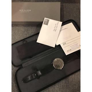 ユンハンス(JUNGHANS)のnomos ノモス metro メトロ デイト グレー文字盤 38mm(腕時計(アナログ))