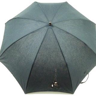 アンテプリマ(ANTEPRIMA)のアンテプリマ 日傘美品  - 黒 化学繊維(傘)