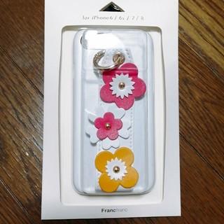 フランフラン(Francfranc)の【Francfranc】フラワーモチーフ iPhoneケース 6 6s 7 8(iPhoneケース)