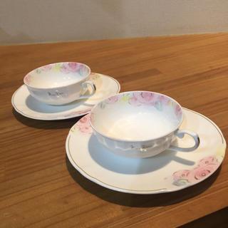 ニナリッチ(NINA RICCI)のニナリッチ ティーカップ&ソーサー 2客セット(食器)