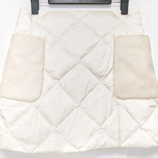 モンクレール(MONCLER)のモンクレール ミニスカート サイズ42 L 白(ミニスカート)