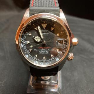 セイコー(SEIKO)のセイコー アルピニスト 4s15ー6000(腕時計(アナログ))