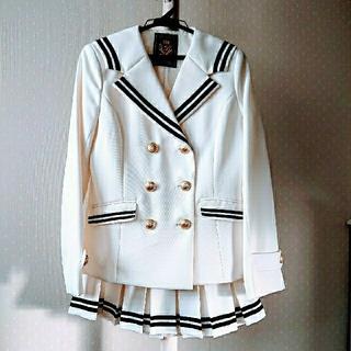 レピピアルマリオ(repipi armario)のレピピアルマリオ 卒服 M 白セーラーカラー(ドレス/フォーマル)