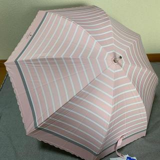 ランバンオンブルー(LANVIN en Bleu)の新品 ランバンオンブルー  晴雨兼用傘 「ピンク」(傘)