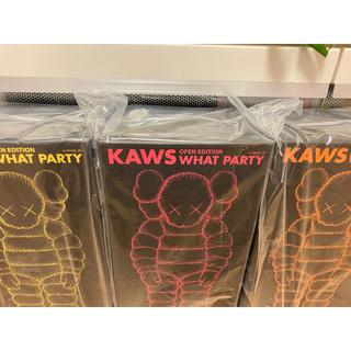 メディコムトイ(MEDICOM TOY)の【即日発送】KAWS what party 3色(その他)