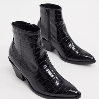 ジョンローレンスサリバン(JOHN LAWRENCE SULLIVAN)の《メンズ》  ヒールブーツ ウェスタンブーツ 26.5-27.0(ブーツ)