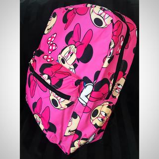 Disney - ディズニー リュック❤️ミニーマウス 総柄 バックパック