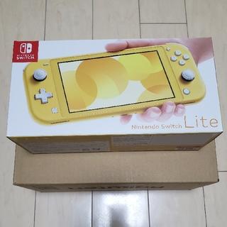 ニンテンドースイッチ(Nintendo Switch)の【新品・未開封品】Nintendo Switch Lite イエロー(家庭用ゲーム機本体)