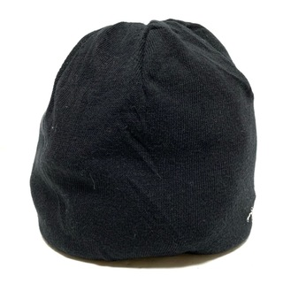 ヒステリックグラマー(HYSTERIC GLAMOUR)のヒステリックグラマー ニット帽 FREE - 黒(ニット帽/ビーニー)