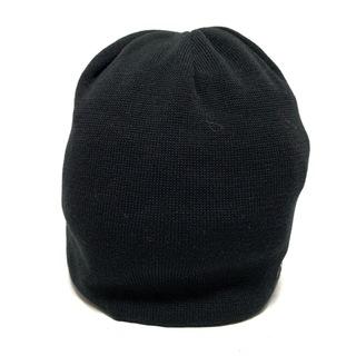 バーバリー(BURBERRY)のバーバリーゴルフ ニット帽美品  黒 ウール(ニット帽/ビーニー)