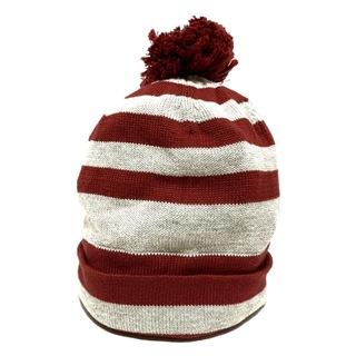 パーリーゲイツ(PEARLY GATES)のパーリーゲイツ ニット帽 FR ボーダー(ニット帽/ビーニー)