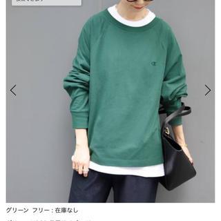 イエナスローブ(IENA SLOBE)のchampion ラグランスリーブTシャツ(Tシャツ(長袖/七分))
