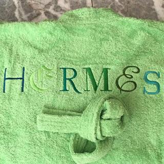 エルメス(Hermes)のエルメス バスローブ 男性用Lサイズ 新品タグ付き(バスローブ)