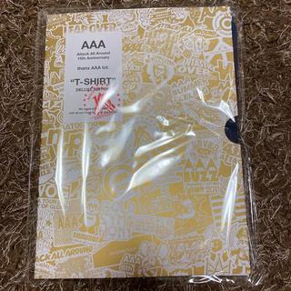 トリプルエー(AAA)のAAA メモリアルTシャツ L(国内アーティスト)