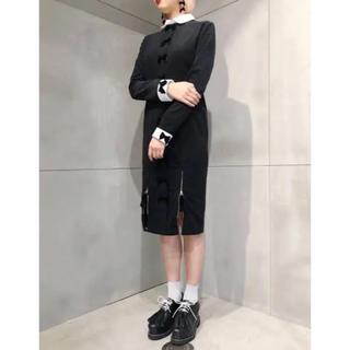 パメオポーズ(PAMEO POSE)のPAMEO POSE ribbon call dress(ひざ丈ワンピース)