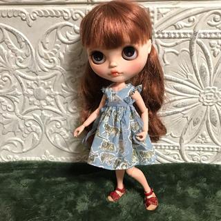 小さな袖のワンピース 59(人形)