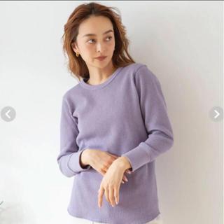 シールームリン(SeaRoomlynn)の  BASICサーマルロングTシャツ ラベンダー(カットソー(長袖/七分))