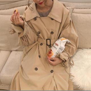 ワンアフターアナザーナイスクラップ(one after another NICE CLAUP)のmellowneon 人気no.1❤︎ribbon trench coat(トレンチコート)