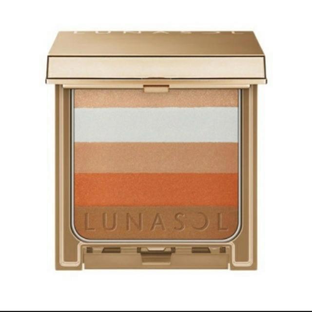LUNASOL(ルナソル)の本日中限定お値下げ❤ルナソル チーク オレンジリブ 限定 2回使用 コスメ/美容のベースメイク/化粧品(チーク)の商品写真