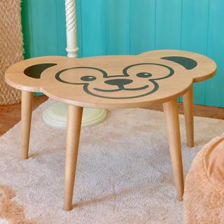 ディズニー(Disney)のディズニーシー ダッフィー 35周年 テーブル インテリア 新品未使用(ローテーブル)
