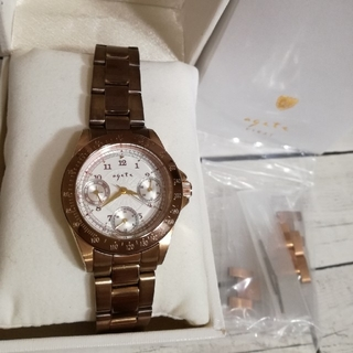 アガット(agete)のアガットファースト 腕時計(腕時計)