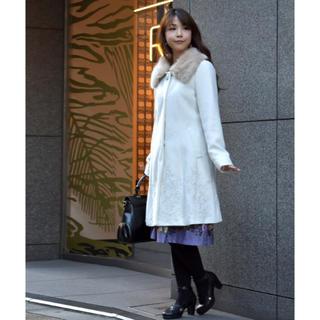 アクシーズファム(axes femme)の※限定価格※裾刺繍2wayコート(ロングコート)
