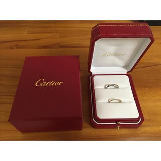 カルティエ(Cartier)の【Cartier】カップルリング(リング(指輪))