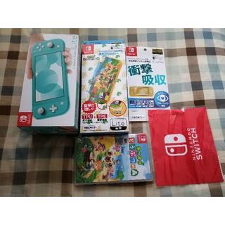 Nintendo Switch Lite ターコイズ どうぶつの森セット(家庭用ゲーム機本体)