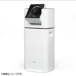 アイリスオーヤマ(アイリスオーヤマ)のアイリスオーヤマ サーキュレーター衣類乾燥除湿機 ホワイト IJD-JN50(衣類乾燥機)