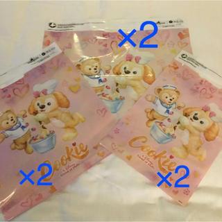 ダッフィー(ダッフィー)の6枚セット 香港ディズニー クッキー ショッパー ショップ袋(ショップ袋)