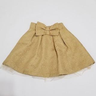 ロジータ(ROJITA)の【ROJITA】フロントリボンスカート(ミニスカート)
