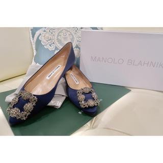 MANOLO BLAHNIK - Manolo Blahnik ⬛️HANGISI バックル パンプス