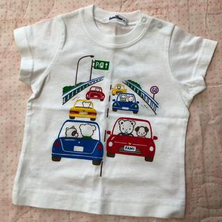 familiar - ファミリア Tシャツ 半袖 新品 80