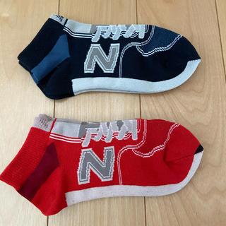 ニューバランス(New Balance)の靴下 くつ下 ニューバランス 19〜21 新品未使用(靴下/タイツ)