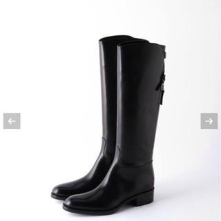 サルトル(SARTORE)の新品未使用 サルトル 乗馬ブーツ ロングブーツ 黒 39(ブーツ)