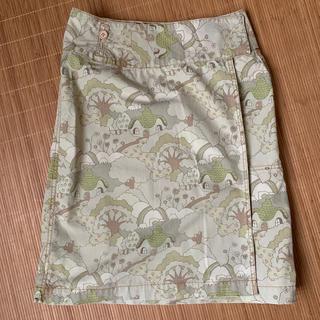 ツモリチサト(TSUMORI CHISATO)のツモリチサト 台形スカート 春夏(ひざ丈スカート)