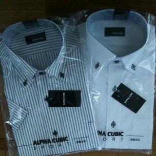 アルファキュービック(ALPHA CUBIC)のワイシャツ半袖2枚(シャツ)