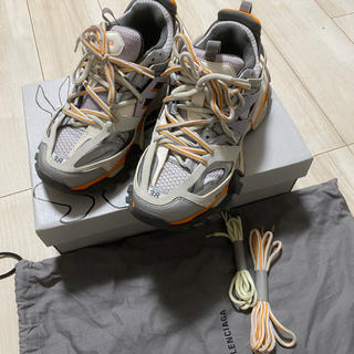 バレンシアガ(Balenciaga)のBalenciaga track orange grey 25cm(スニーカー)