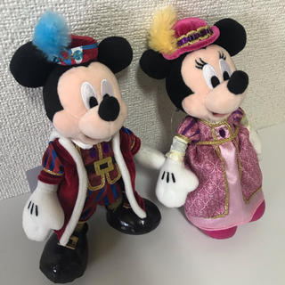 ディズニー(Disney)のディズニーシーホテルミラコスタ トートバッグ ミッキー ミニー ぬいぐるみバッジ(キャラクターグッズ)