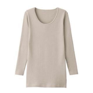 ムジルシリョウヒン(MUJI (無印良品))の無印良品 ウール 八分袖Tシャツ(アンダーシャツ/防寒インナー)