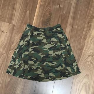 ウィゴー(WEGO)のWEGO スカート  迷彩柄(ひざ丈スカート)