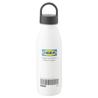 イケア(IKEA)のEFTERTRÄDA エフテルトレーダ 水筒, ホワイト(水筒)