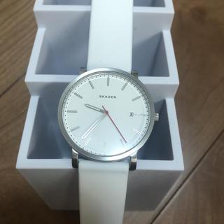 スカーゲン(SKAGEN)のSKAGEN 白腕時計(腕時計)