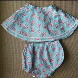 ラルフローレン(Ralph Lauren)のラルフローレン スカート ブルマ セット 80(スカート)